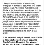 McConnell statement -- rejecting a presidents right to nominate a SCOTUS justice. Wow. https://t.co/xGChmDmNPi