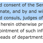 Hi Ben Carson, might we suggest you look at Article II, Section 2 of the Constitution? https://t.co/MKFCk7iCej