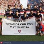 Final del partido. Ganoooooooó #SanLorenzo. Sobre la hora, 2-1 a Sarmiento de Junín. ¡Sí sí señores de corazón! ❤???? https://t.co/6NNP5ztdNY