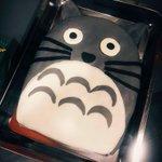 Mirad esta tarta OP que me han hecho con musho cariño de Totoro <3 https://t.co/9JBc4HZYPL