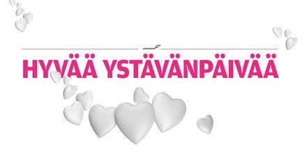 Toivotamme mitä parhainta ystävänpäivää! Lentotarjoukset kahdelle 15.2. asti ystävänpäivä