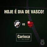 Hoje é dia de Clássico dos Milhões!!! @VascoDaGama x @Flamengo, pelo Carioca! #VamosGanharVasco #VASxFLA https://t.co/eKcx1rjaRY