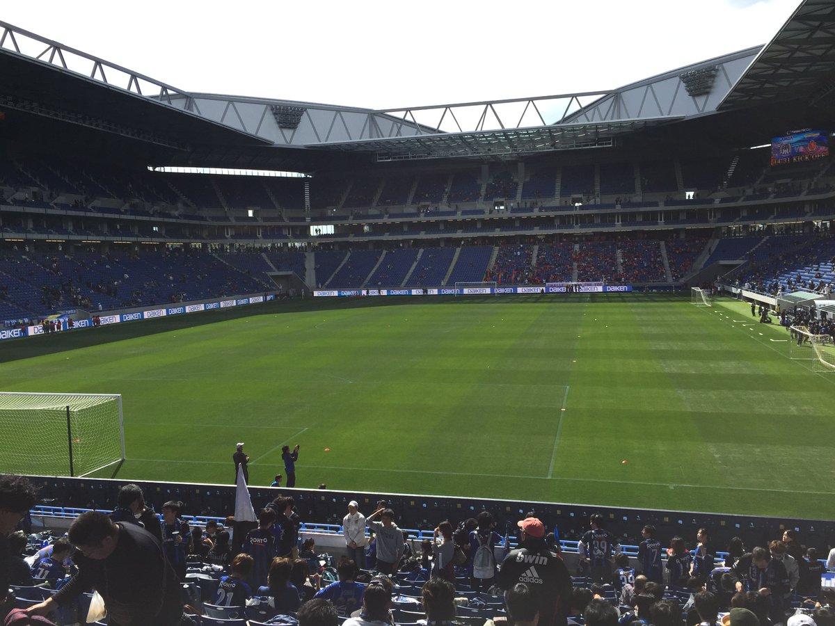 新スタジアム最初はゴール裏の下層から応援することに。 https://t.co/aVDspgQXTm