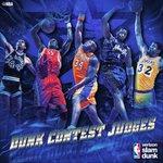 Tonights #VerizonDUNK judges! #NBAAllStarTO @NBAonTNT https://t.co/M19fqroKT6