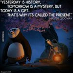 Wise word from Master Oogway https://t.co/NdFeWktQ0Q https://t.co/h9Tq07eTuw
