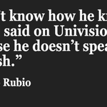Rubio attacked Cruz for not knowing how to speak Spanish, at which point Cruz attacked Rubio—in Spanish #GOPDebate https://t.co/wcs6nLWaCO