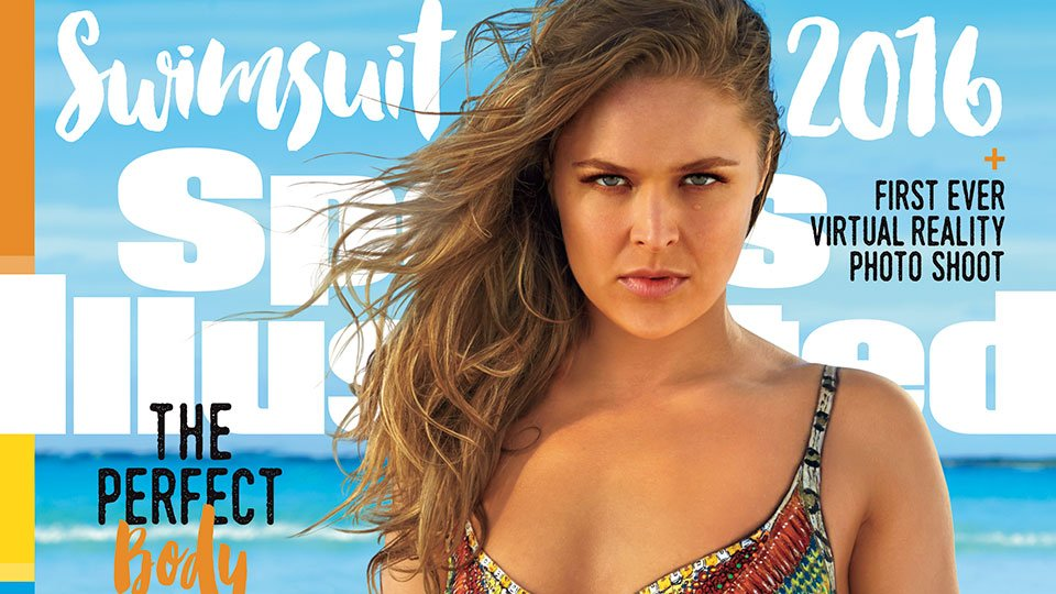 Say hello to 2016 #SISwim cover model @rondarousey! The best part, she's one of three https://t.co/JvM8UqzlIL https://t.co/30GmY6em1P