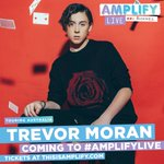The one and only @TrevorMoran will be touring around Australia & New Zealand with us this April! 🎶🎤 #AmplifyLIVE https://t.co/E2gKFx61Qr