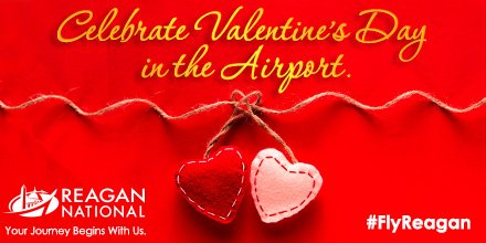 Happy ValentinesDay from Reagan National. Take a look at these gift ideas: