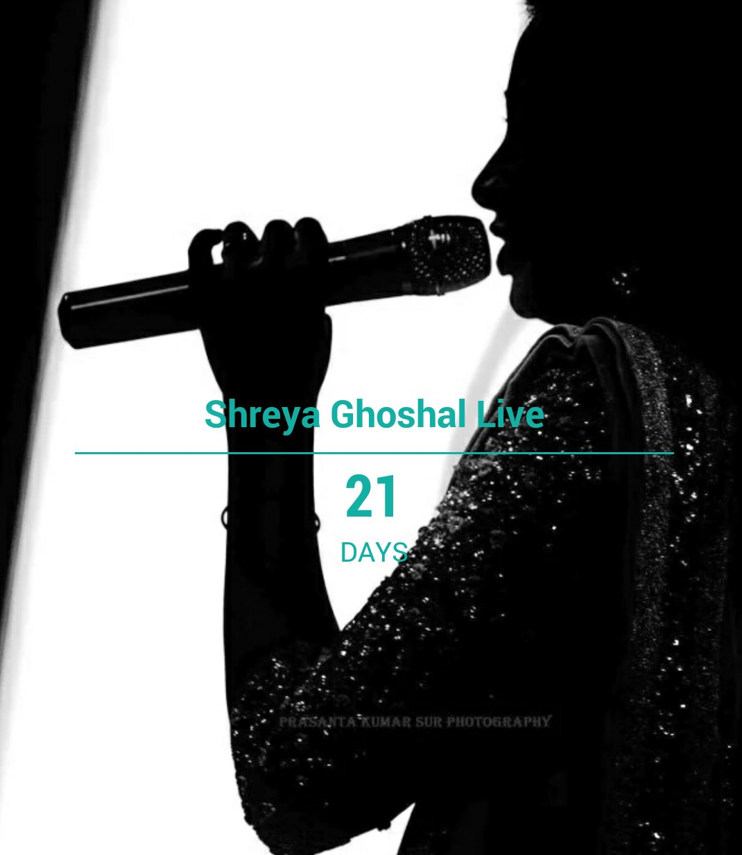 @shreyaghoshal #21days #ToGo #ShreyaGhoshalLive #Chennai #5March 🎉🎊😍 https://t.co/3wkNCsNLV6