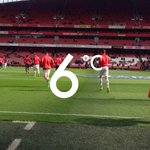Its sunny but chilly in north London - and both sides are out warming up on the pristine playing surface #AFCvLCFC https://t.co/ijMLns1I4t