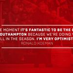 Perhaps unsurprisingly, @RonaldKoeman is loving life as #SaintsFC boss right now – https://t.co/jXA8gVqL2U https://t.co/p7cXbXK00q