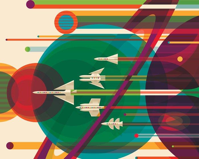 La NASA offre plusieurs posters rétro (magnifiques) à imprimer  https://t.co/xzvYKe7t6F https://t.co/sQck4XDWVR