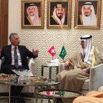 معالي الوزير #عادل_الجبير يلتقي وزير خارجية #سويسرا ديدييه بوركهالتر في #الرياض. https://t.co/YUGkamLrQT