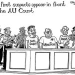 What African leaders mean by setting up African criminal court #UGDebate16 @kyomugasho3 @SarahBireete @BrianAtuheire https://t.co/fYnsA7Qrm4