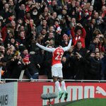 And heres how the man himself celebrated... #AFCvLCFC https://t.co/N7CNfpohfR