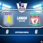 "Memang class la #EPL: Pesta gol di Villa Park.. Liverpool 6 Aston Villa 0. https://t.co/tfZ0UVbA52"""