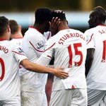 FULL TIME: Aston Villa 0-6 Liverpool. Sturridge Milner Can Origi Clyne Toure What a performance! https://t.co/qNav5fVHPo