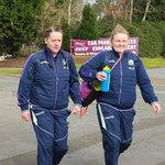 .@Scotlandteam Women are en route to The Gnoll where they face Wales #AsOne | Kick-off 2pm https://t.co/suaVw9wNT8