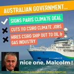And lets not forget the environment and Turnbulls contribution... #auspol https://t.co/YP9gWWN5Qp