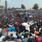 FDC presidential candidate @kizzabesigye1 campaigns at Kawempe growers. Photo: Abubaker Lubowa. https://t.co/wISmZuixLK