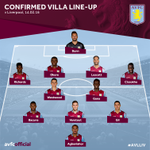 Heres todays Villa line-up to face @LFC. #AVLLIV #AVFC #LFC https://t.co/IdsQfDWE1L