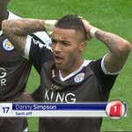 Danny Simpson looking like he just packed TOTY Ronaldo. #ARSLEI https://t.co/MbQs7NhSQr