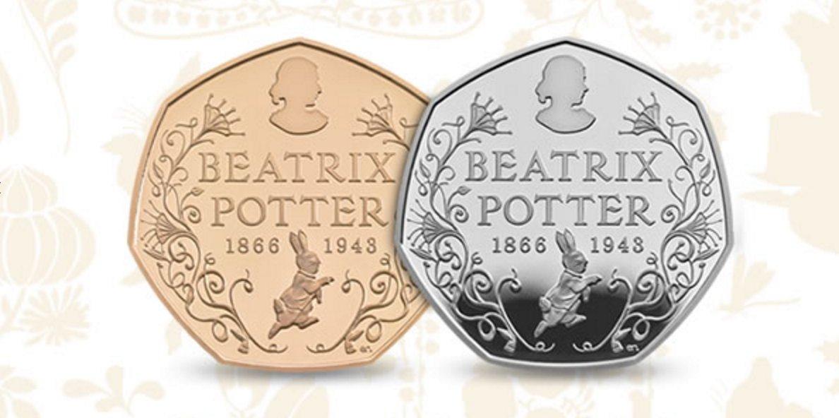 New 50p Beatrix Potter coin: https://t.co/K15NoVnXKI https://t.co/aglwooPwum