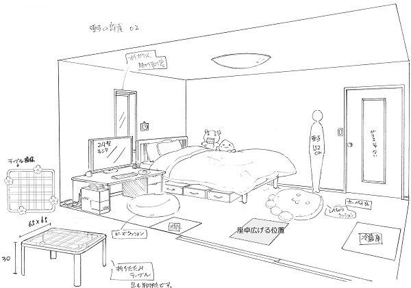 余談終わり!おまけです。おまけ1。あこのへやです。亜子の部屋。……説明は不要かと思います。女の子の部屋、ドキドキしますよ