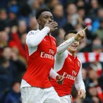 PHOTO Danny Welbeck marks his 1st appearance since April with a big, big winning goal against Leicester #ARSLEI https://t.co/QVaFxY0PWA