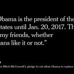 Hillary Clinton denounces Senator Mitch McConnell's stance on Supreme Court nomination https://t.co/YEn3nXPNec https://t.co/HLVyJUEAjT