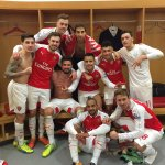 best. team. 💪🏼😎 #yagunnersya #BeTheDifference #AFCvLCFC #Arsenal #bigpoints https://t.co/UiLGpJj6AC