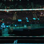 "Zo direct finale @abnamrowtt in @rotterdamahoy met ""verrassingsopening"" door @rdamphil midden op center court! https://t.co/LPze8wmufw"