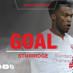 16: Daniel Sturridge puts #LFC 1-0 up as he heads a pinpoint Philippe Coutinho cross in from close range https://t.co/LE2bfVXELL