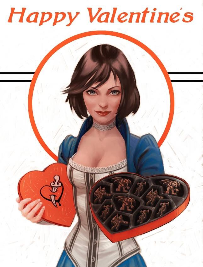 Happy Valentines Day from the Irrational Games Team! https://t.co/IRUF2sU6Af