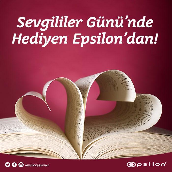 İstediğin Epsilon kitabının adını bu tweete yanıt olarak yaz, kazanma şansını yakala! #14şubat #sevgililergünü https://t.co/IjZo1aHGE7