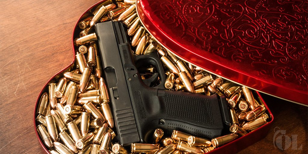 From all of us at GLOCK, Happy #ValentinesDay to you and your loved one.   Photo credit: Ordnance Locker https://t.co/H9FB2LWUeG