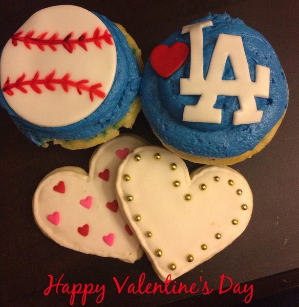 Happy #ValentinesDay from @Dodgers Radio AM 570 LA Sports! #WeLoveLA
