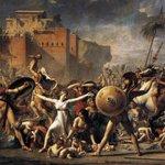 #NeoClassicism  Jacques-Luis #David The Sabine Women,1799 Louvre,Paris  @alecoscino @Asamsakti @redne2013 @artdielle https://t.co/mWwnXuMvSV