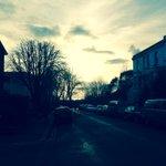 Sun glistening on the sea in the distance; Winter in Port Hall Road, Seven Dials. #Brighton #Hove https://t.co/mYS5ceMe6B
