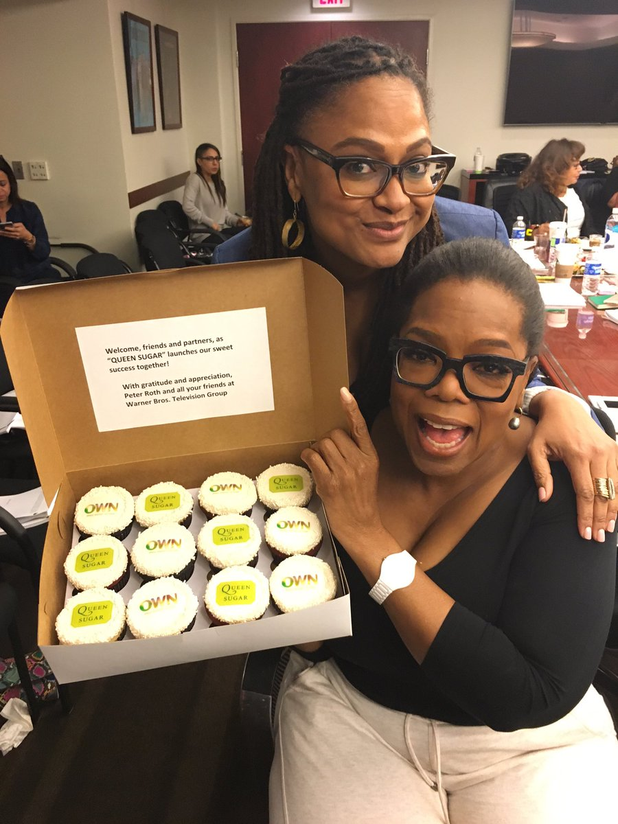 It's all starting!!!!!  @QueenSugarOWN @AVAETC @Oprah #blessed first table Read! https://t.co/wJRu2pbnL3
