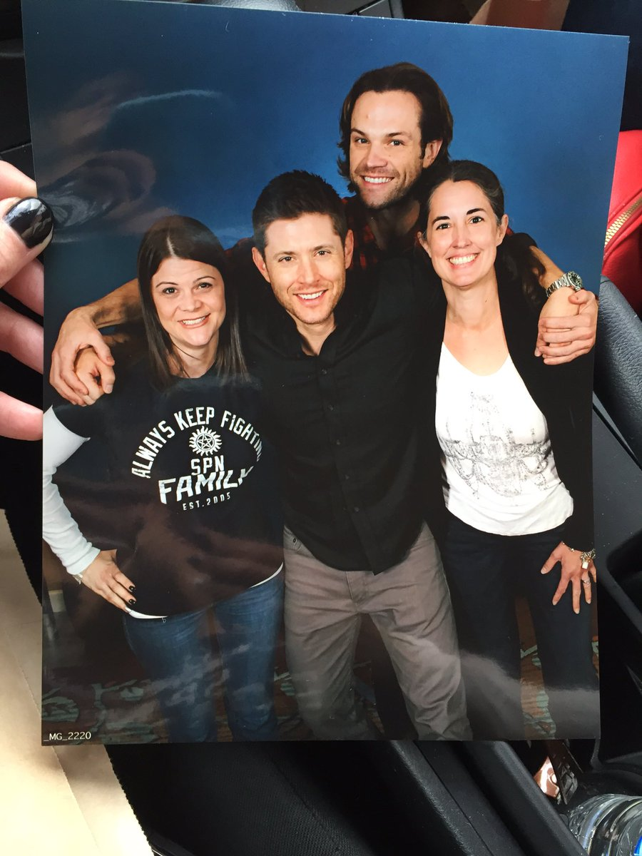 Amazing day. Thank you @JensenAckles and @jarpad. https://t.co/5GzbtjvmFf
