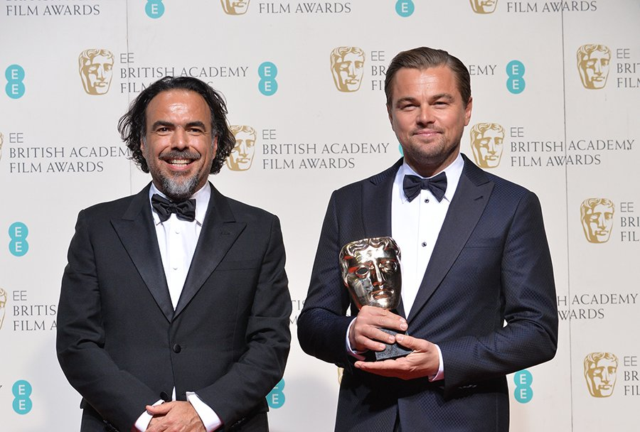 The one and only @LeoDiCaprio wins the Leading Actor award, his first BAFTA, for @RevenantMovie! https://t.co/IQqK88Vt2i