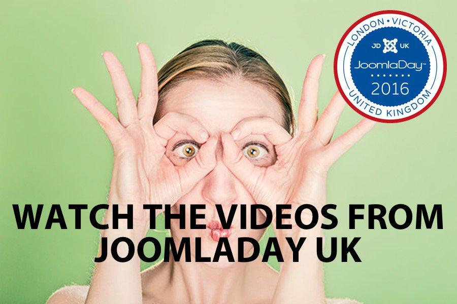 Watch all the videos from #jd16uk #joomla https://t.co/NL9hE0EQBA https://t.co/FouaKzwtjR