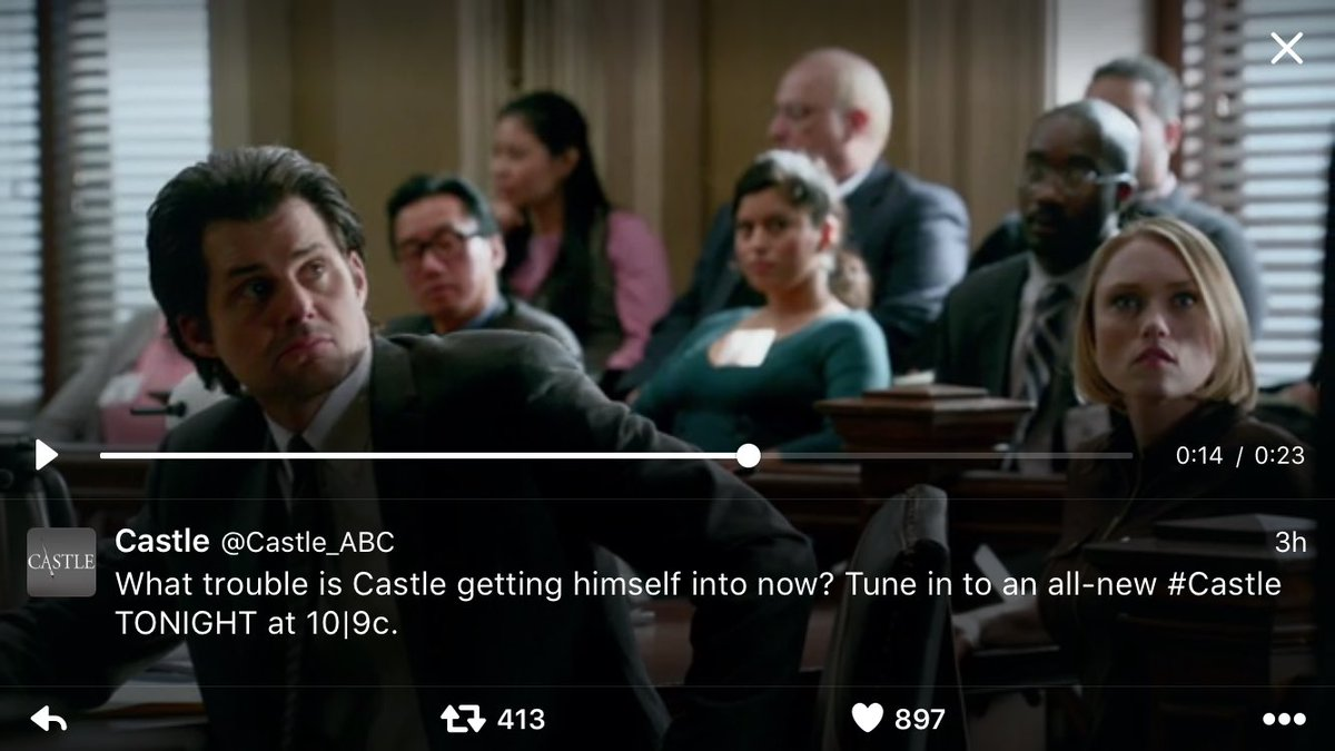 Live tweeting @Castle_ABC in one hour with Castle buddies! https://t.co/ktCyEOm0Yz