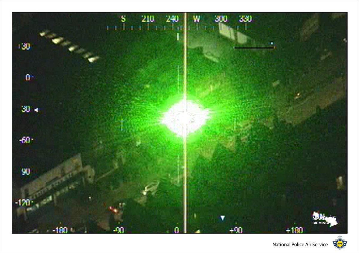 It might seem like #ABitofFun to you but we consider it an #Attack on the safety of us & our #Aircraft = #LaserLout https://t.co/vSuBimXkJ1