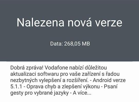 Vydali jsme Android 5.1.1 pro Smart ultra 6. Aktualizaci uvolňujeme postupně, telefon na ni sám upozorní. https://t.co/tLrMCYzjly