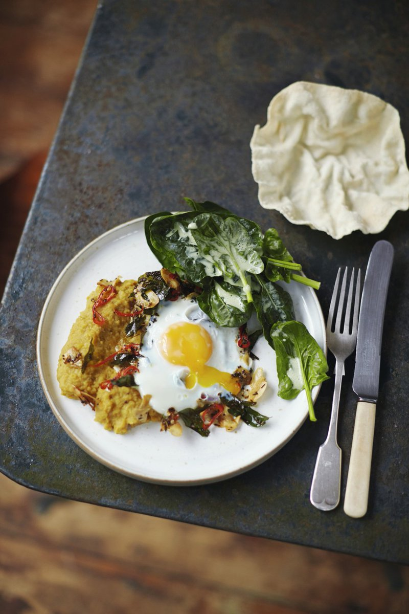 #RecipeOfTheDay - Delicious squash daal and a fried egg for that little extra taste! https://t.co/kVu0Lt7D8p https://t.co/qrYqVMRMoR