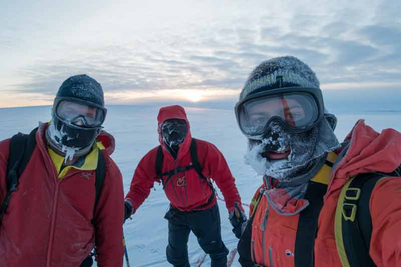 MyOutdoors: British Team makes peace with 'World's Grumpiest Icecap' https://t.co/SZe82uNMYG https://t.co/BrjM011Fu7