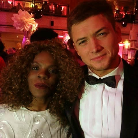 Hey Charley ! What's up ?!! Hanging with @TaronEgerton #EEBAFTAs Looking forward to @EddieEagleMovie #EddieTheEagle https://t.co/Cfh7daC4xm